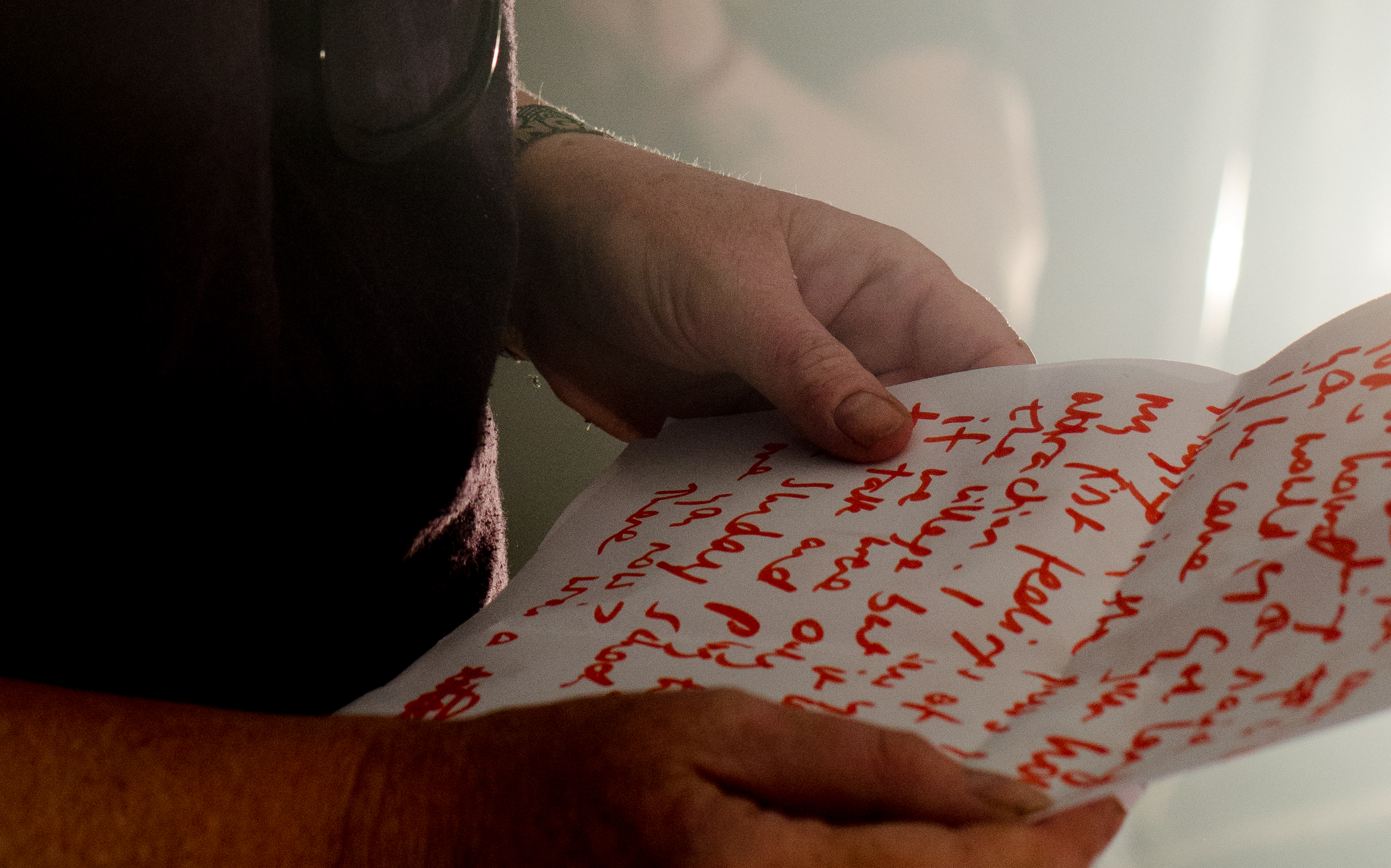 Love Letters, performed at Latitude as part of Tempting Failure 2015, photograph by MM